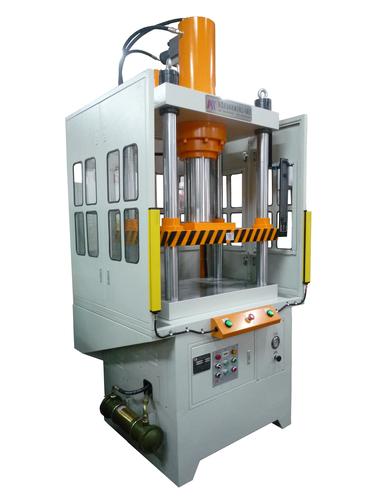 壓鑄切邊機、鋁製品衝邊機、油壓切邊機、四柱油壓機、四柱快速油壓機、液壓機、油壓機(型號:KTQ-50TS-F)